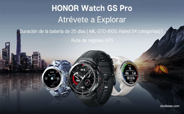 Reloj Honor Watch GS PRO de oferta por 195 euros en Amazon