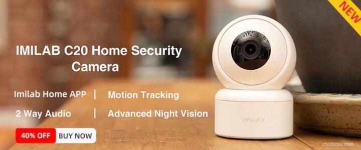 Cámara de Seguridad Wifi IMILAB C21
