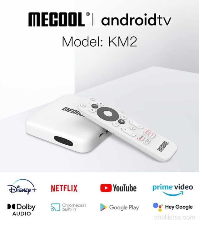 review Android TV MECOOL KM2