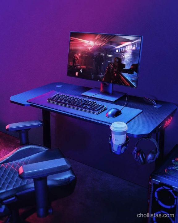 mesa de escritorio gaming aukey