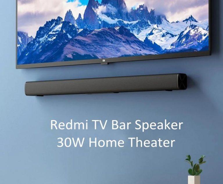 Barra de sonido Xiaomi Redmi TV Soundbar por 47 euros desde España (Cupón Descuento)