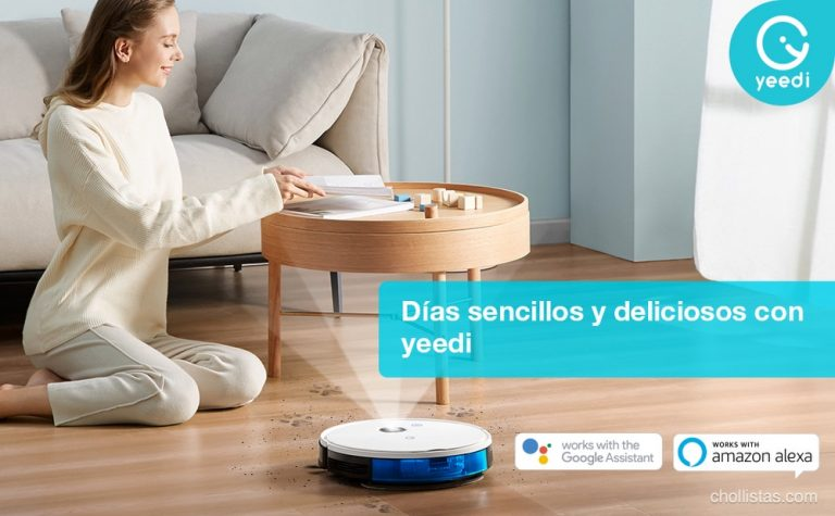 Superofertas de robots de limpieza de la marca Yeedi desde 139 euros en Amazon