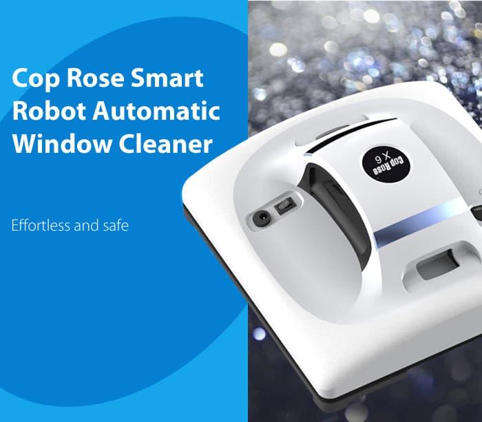 Oferta Robot limpiador de ventanas y paredes Cop Rose X6 por 160 euros (Cupón Descuento)