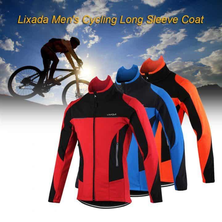 Chollo chaqueta térmica para ciclismo Lixada por 21,50 euros (Oferta FLASH)