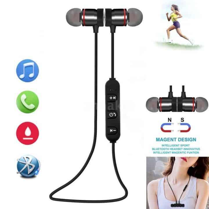 Oferta auriculares Bluetooth Deportivos Q1S7 por 2,90 euros (Oferta FLASH)