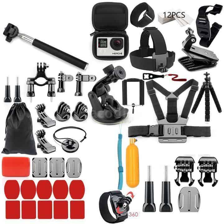 Kit de 56 accesorios para cámara GoPro o similar por 22 euros (Oferta FLASH)