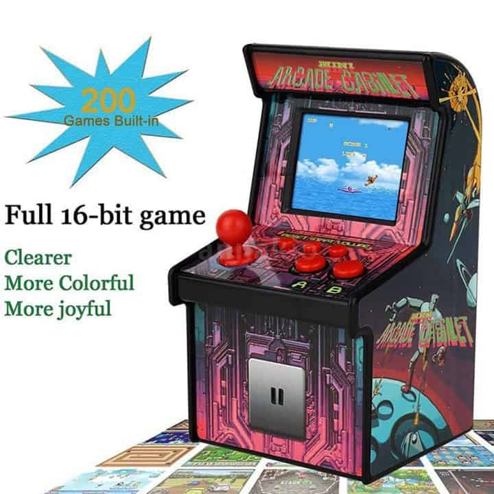 Oferta mini consola arcade retro por 14 euros (Oferta FLASH)