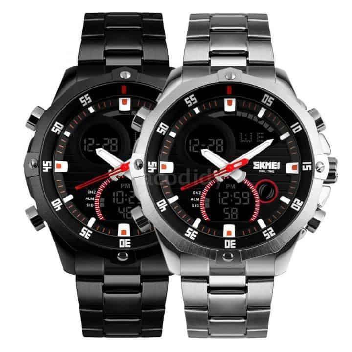 Oferta reloj analógico digital SKMEI por 9,90 euros (Oferta FLASH)