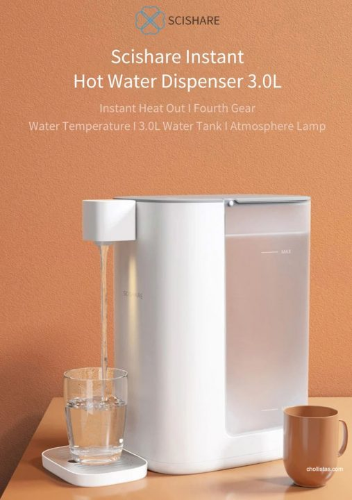 Dispensador de agua caliente Xiaomi Scishare S2301 por 75 euros (Cupón Descuento) 1 xiaomi scishare s2301
