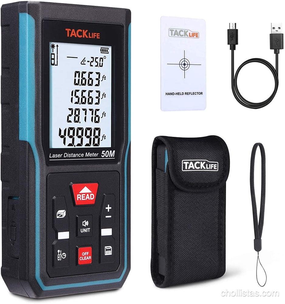 telemetro laser tacklife