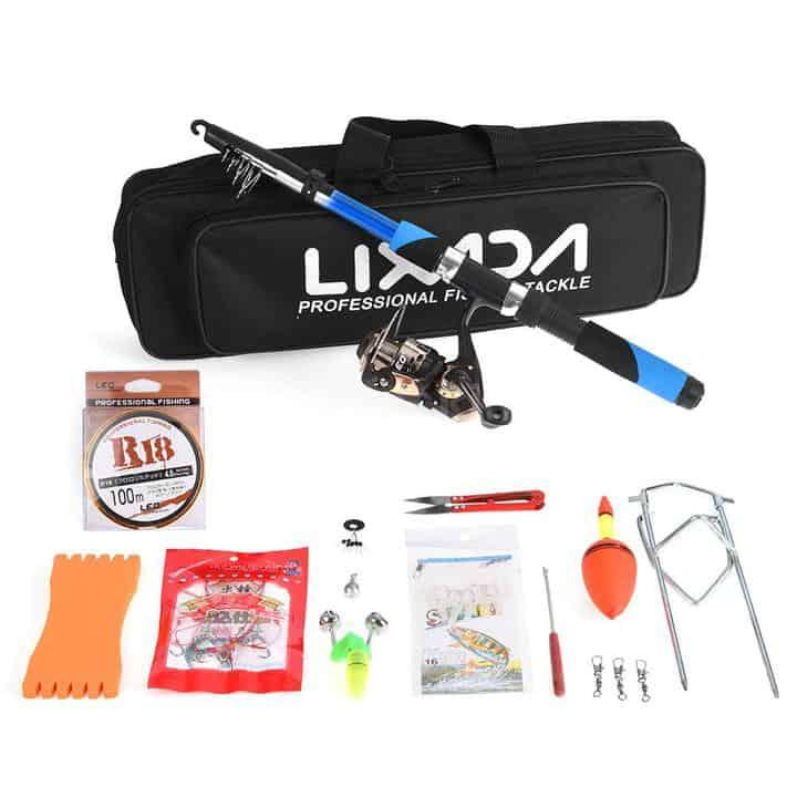 Oferta Kit de pesca completo LIXADA por 14,95 euros (Oferta FLASH)