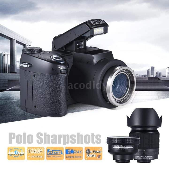 Oferta Cámara reflex POLO D7100 Ultra HD por 140 euros