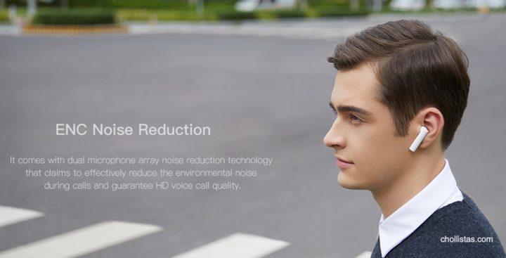 Auriculares bluetooth Xiaomi Air 2s de oferta por 61 euros desde España (Cupón Descuento) 3 xiaomi air 2s