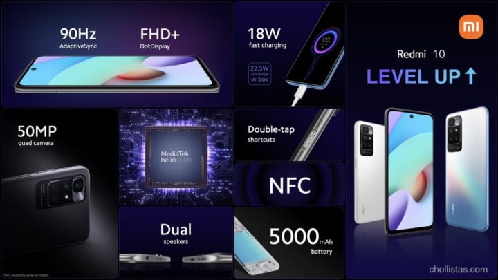 review y oferta Xiaomi Redmi 10
